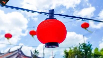 Decoración por el año nuevo chino
