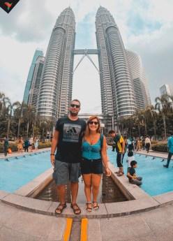 Torres Petronas de día