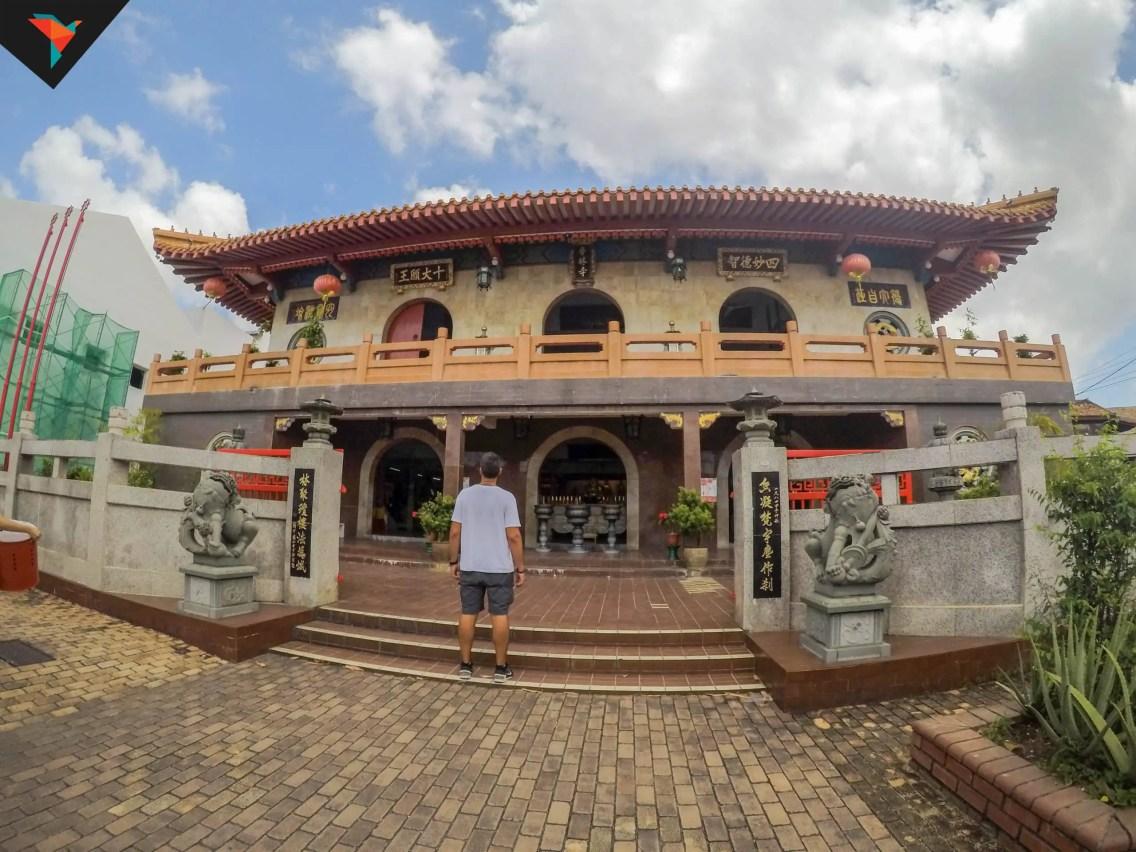 Panoramica del Xiang Lin Si Temple