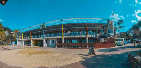 El pavilion en Main Beach