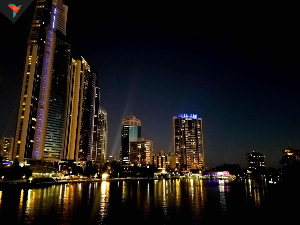 Gold Coast de noche