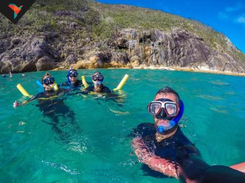 Snorkel en la barrera de coral