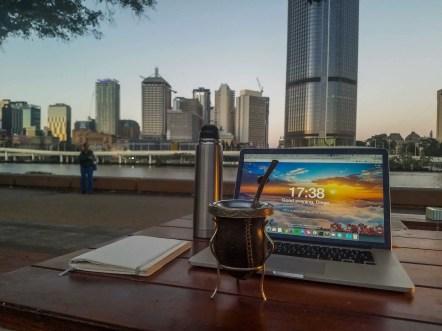 Mateando en Brisbane