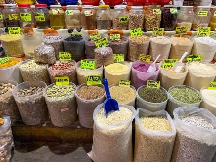 Especias en el Mercado de San Miguel