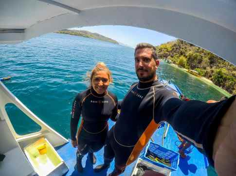 Listos para otra aventura bajo el agua