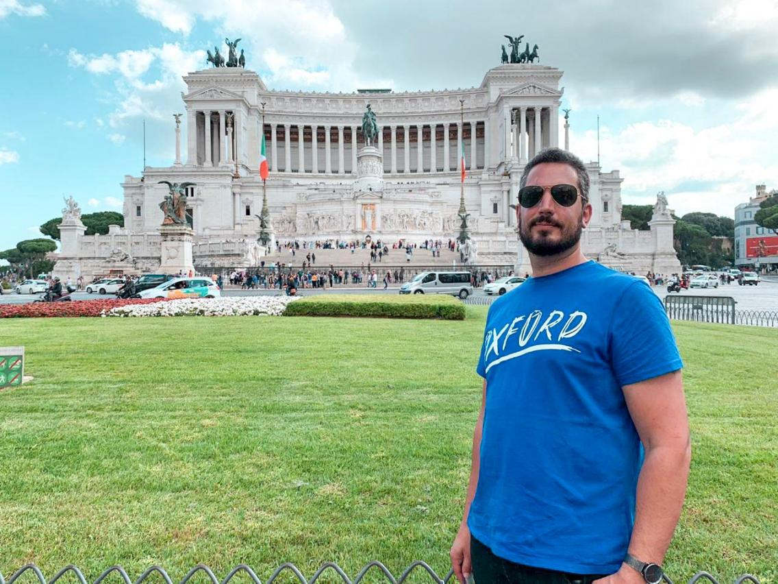 Monumento a Vittorio Emanuele II desde Plaza Venezia