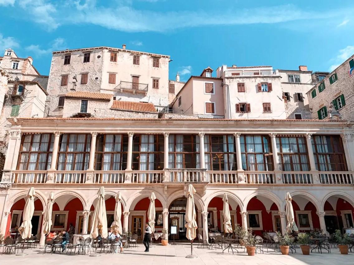 Ayuntamiento de sibenik Croacia