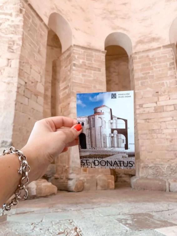 Iglesia San Donatus en Zadar