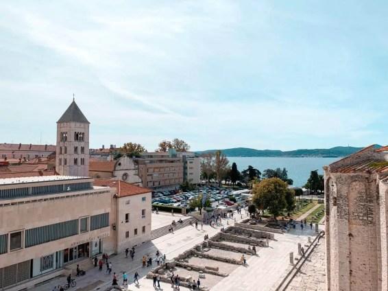 Foro Romano en Zadar