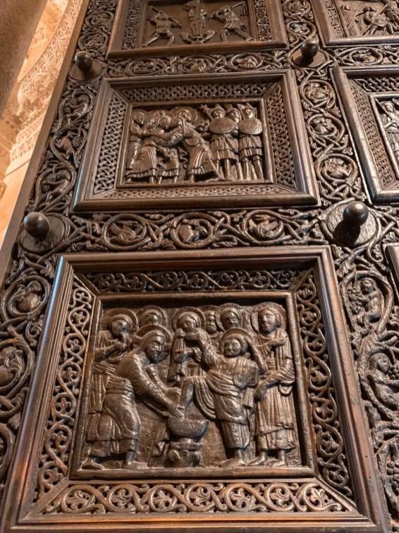 Puerta catedral de San Duje - que ver en Split