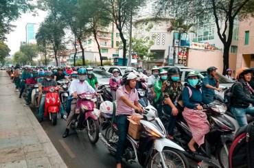 Las motos en HO CHI MINH