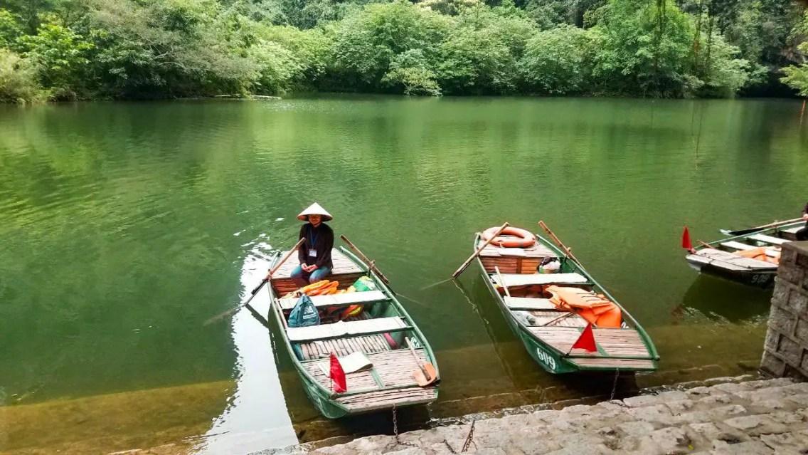 Paseo en bote por el río Tam Coc