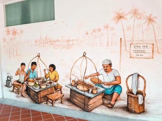 Arte Urbano en Kampong Glam