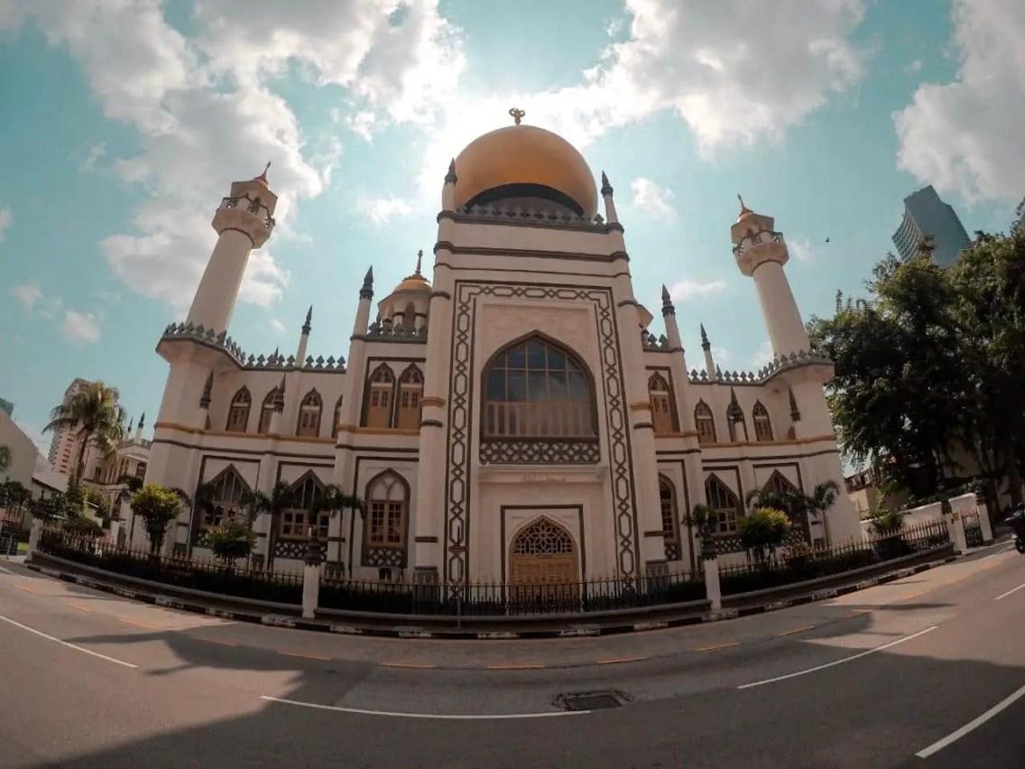 mezquita del sultan singapur