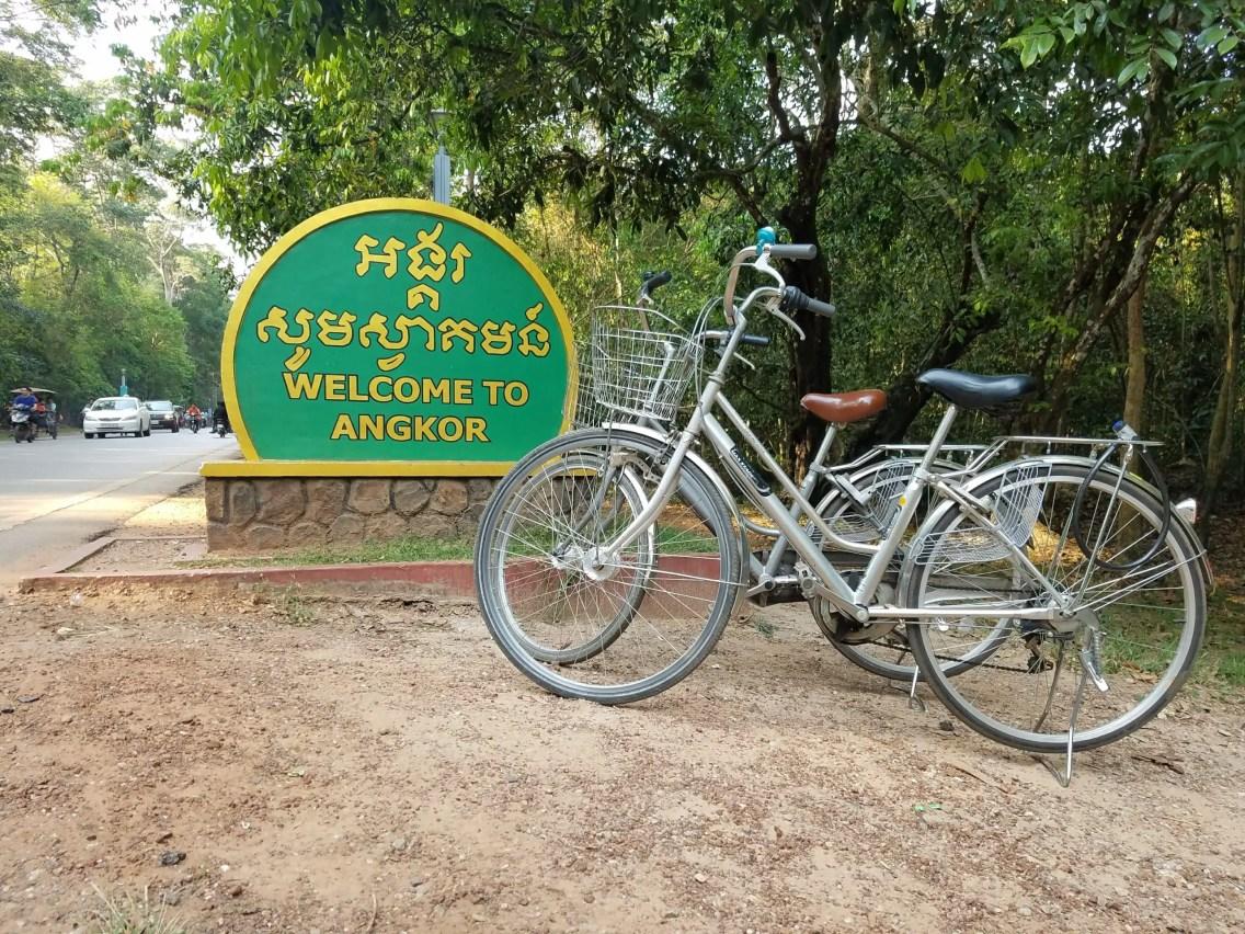 Angkor en bicicleta