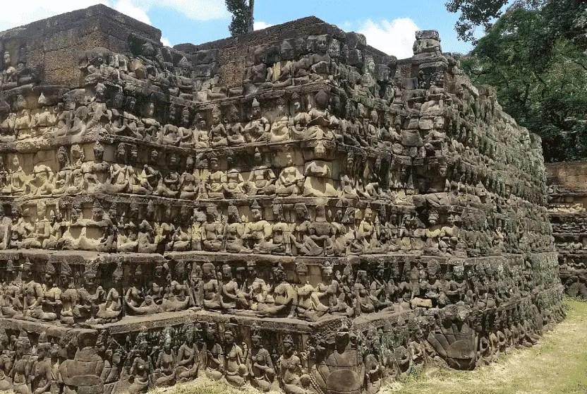 Terraza del Rey Leproso