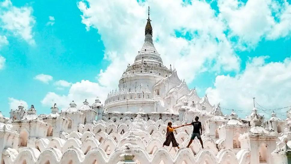 Pagoda Hsinbyume en Mingun