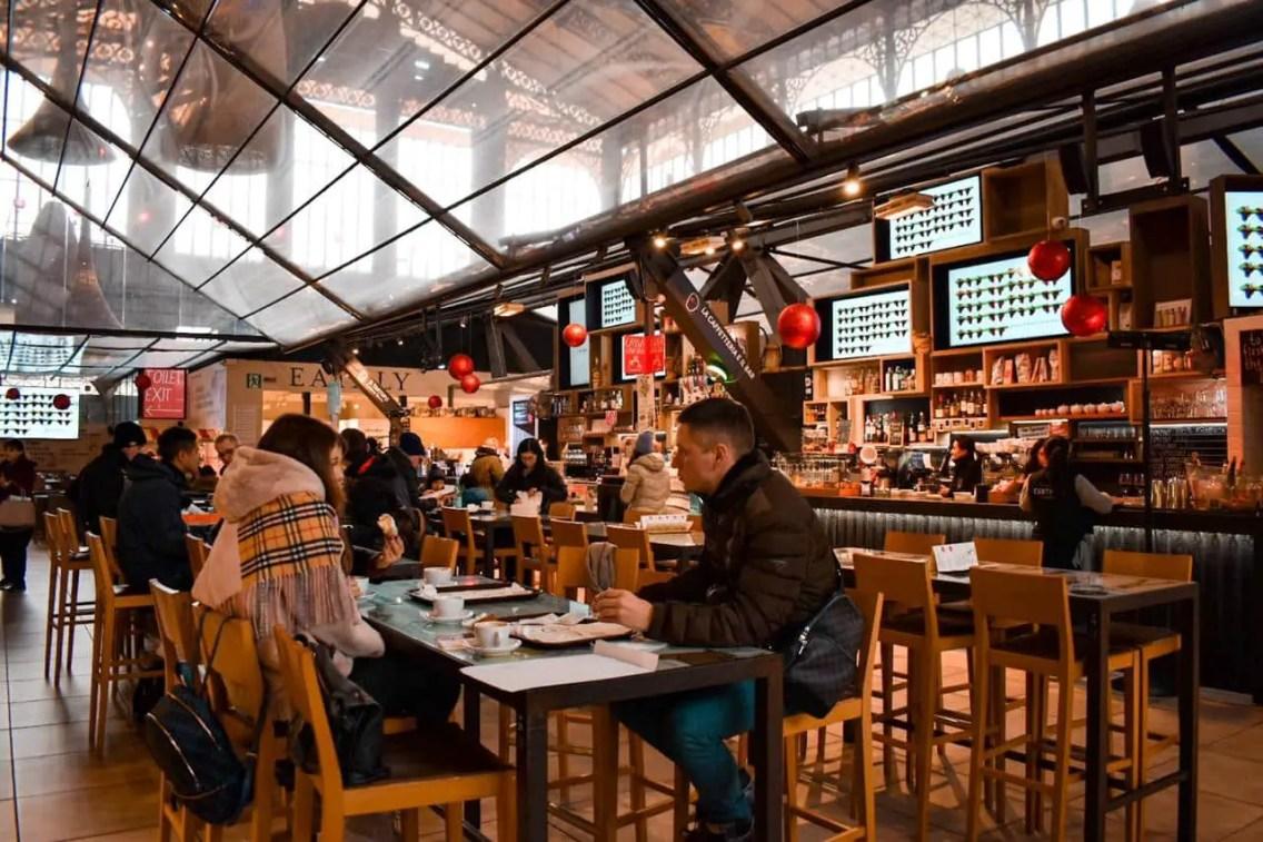 Mercato centale Florencia, donde comer en Florencia