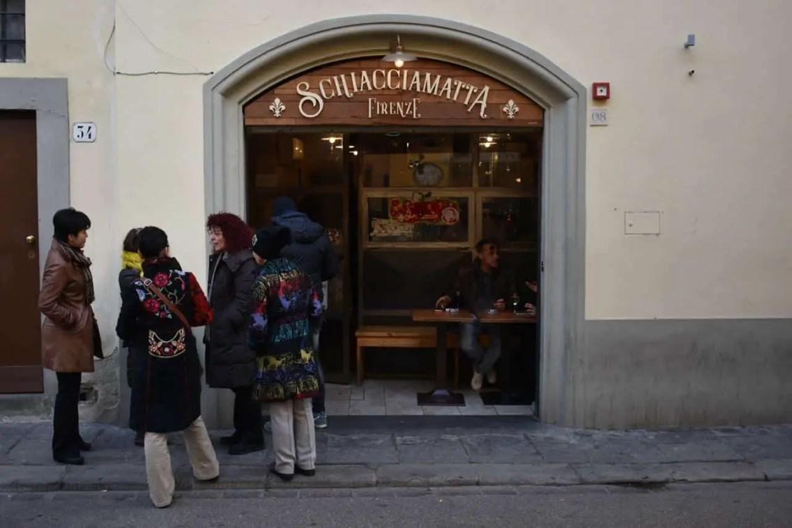 Stchiacciamatta, un imperdible donde comer en Florencia