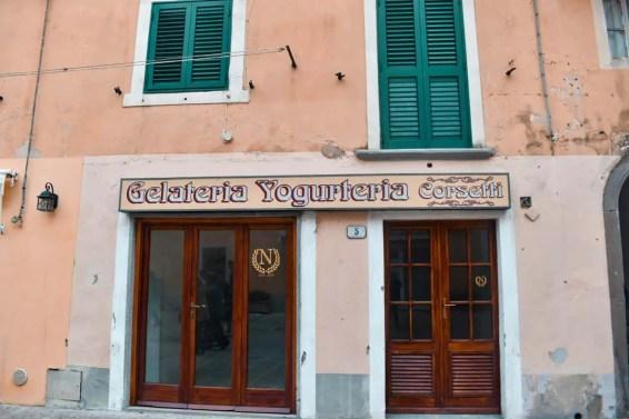 Gelateria antigua Italia Porto Azzurro