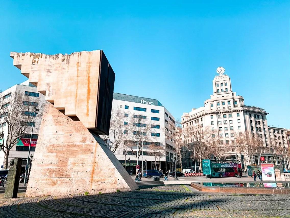 Plaza Catalunya