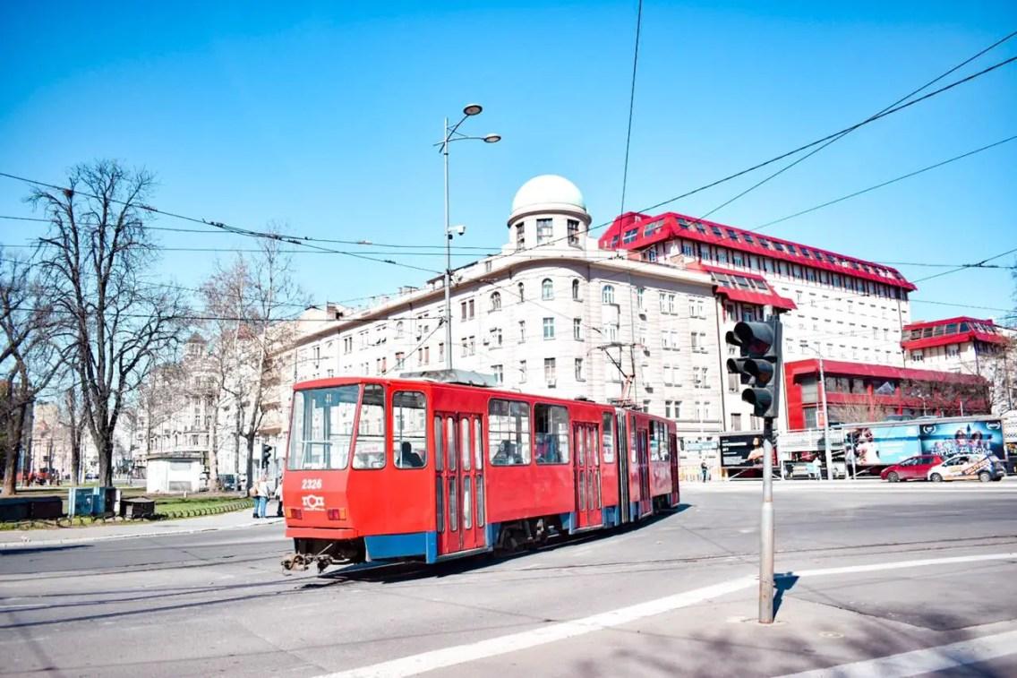 Tranvía Belgrado