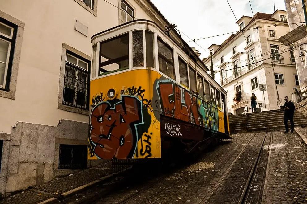 Bairro Alto - tranvía