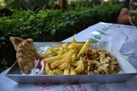 comida griega en atenas