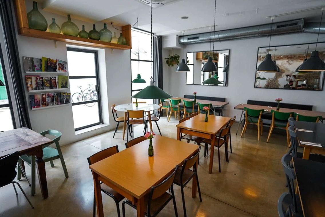 cafes trabajar barcelona