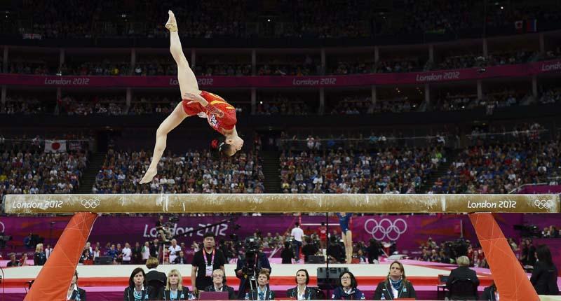 Juegos Olmpicos Londres 2012  Kyla Ross  Juegos