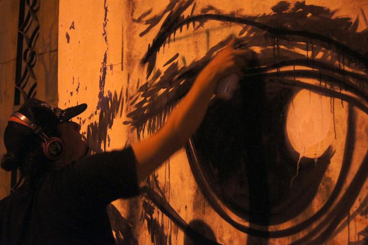 Grafitis callejeros una forma de arte efmera  Guayaquil a Contraluz  El Universo