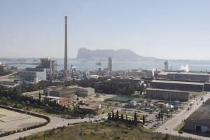 Vista general de la Bahía de Algeciras