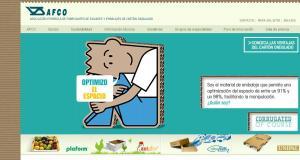 Portal web de AFCO