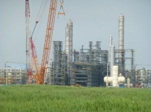 Construcción de la Planta Petroquímica en Shangai