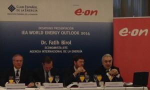 Un momento de la  inauguración del World Energy Outlook (WEO) 2014