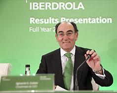 Ignacio Galán, Presidente y Consejero Delegado, en la presentación de resultados.