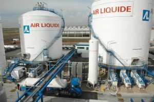Una planta de Air Liquide.