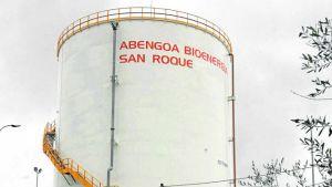 Planta de Abengoa Bioenergía en San Roque.