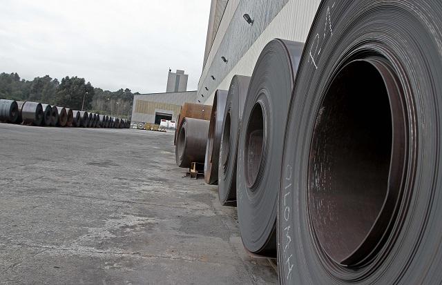 Imágenes de la siderúrgica. Acerinox Acerinox