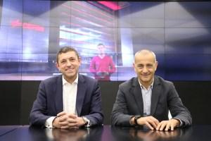 Antonio Melcón y Juan Carbayo, director general y responsable de Desarrollo de Negocio, respectivamente, de Cepsa Gas Comercializadora.