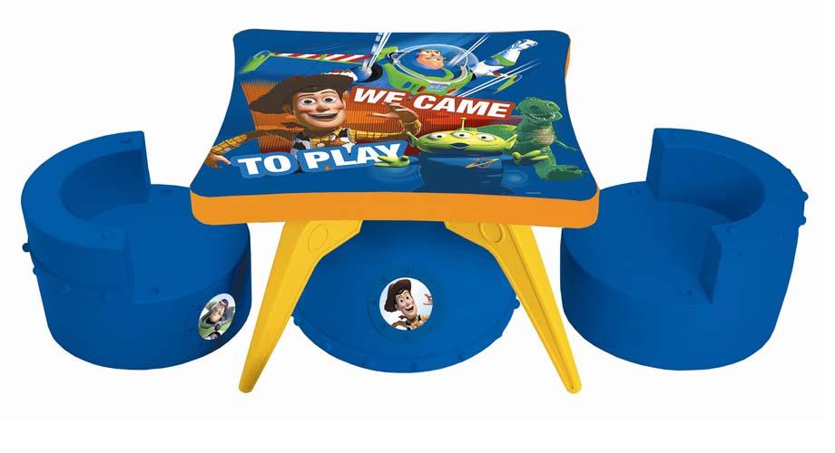 Set de mesa y silla Toy Story