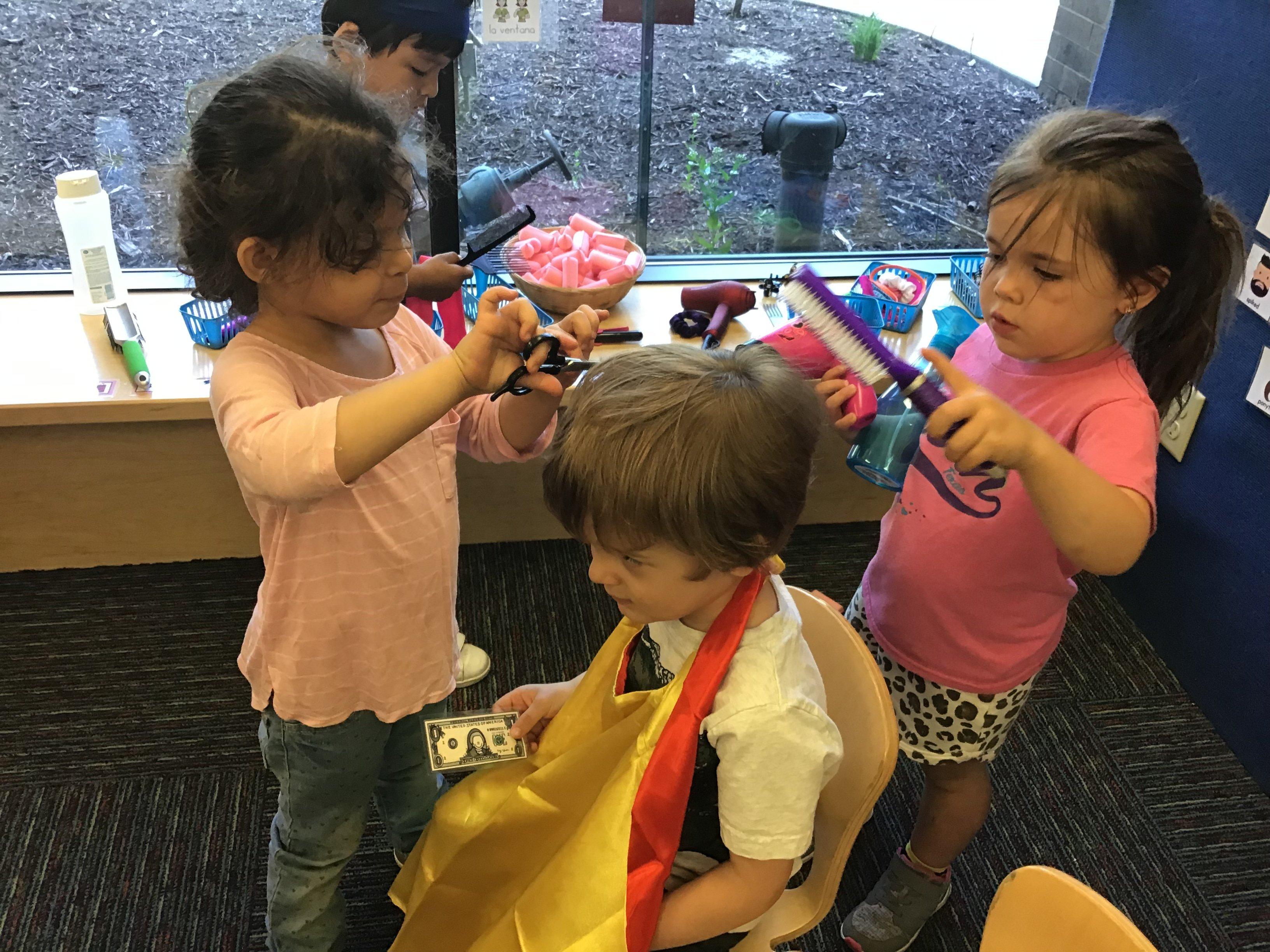 Interest Area Dramatic Play Hair Salon