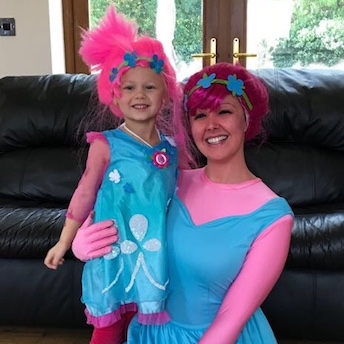 Trolls Party with Princess Poppy and Branch
