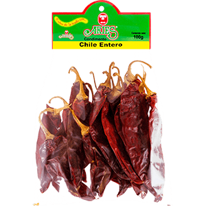 Chile Entero California 100gr