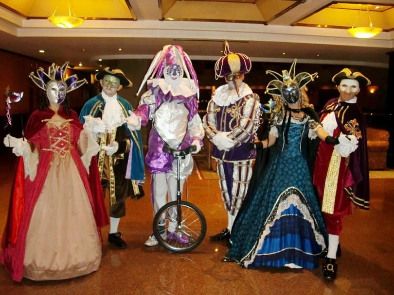 personajes venecianos, personajes venecianos méxico