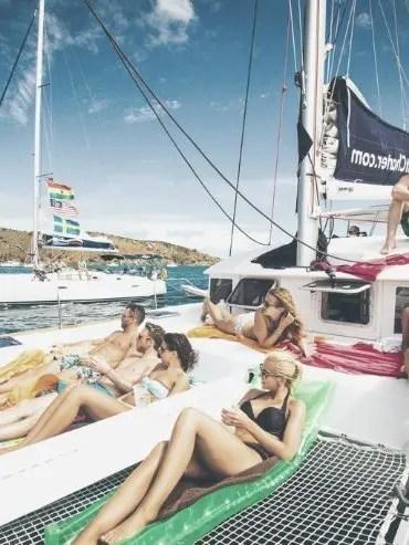 alquiler de catamaran para despedidas