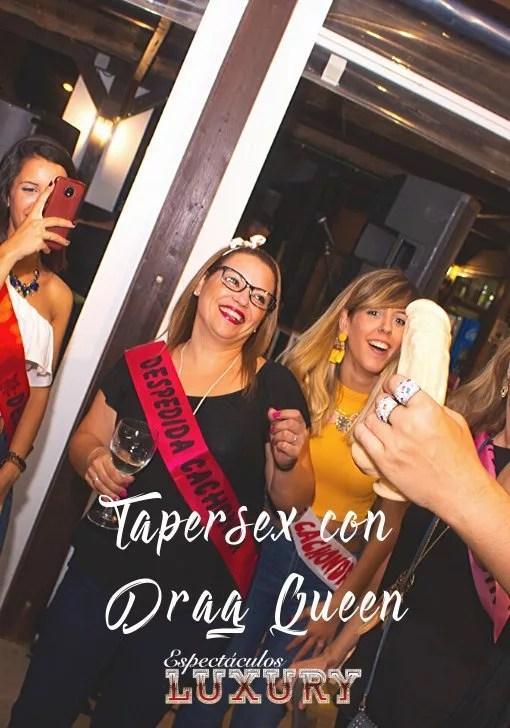 Tapersex con drag queen en Sevilla