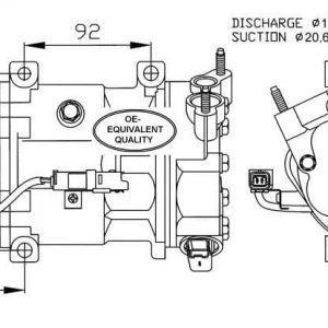 Compresores de Aire Acondicionado de CITROEN-Envíos GRATIS