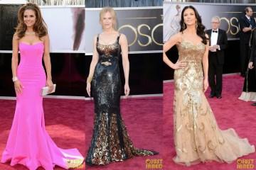 Maria Menounos   Nicole Kidman  Catherine Zeta Jones