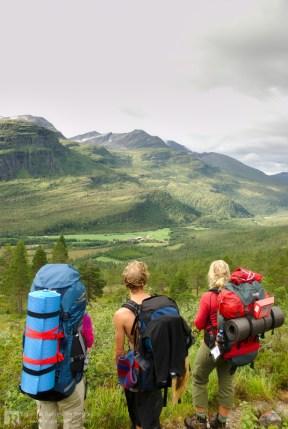 View towards Kårvatn in Todalen.